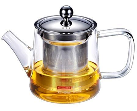 玻璃泡茶壺帶不鏽鋼濾網 4