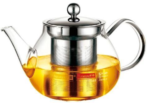 玻璃泡茶壶带不锈钢滤网 5