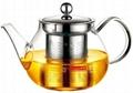 玻璃泡茶壺帶不鏽鋼濾網 5