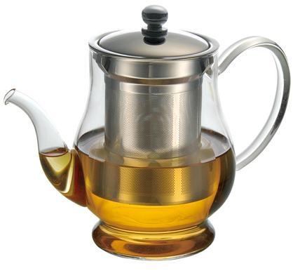 玻璃泡茶壶带不锈钢滤网 6