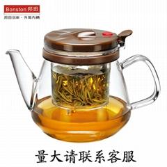 加厚玻璃泡茶壶 飘逸壶