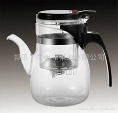 glass teapot & coffee maker