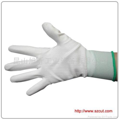 PU coated palm gloves / PU palm Coated Gloves