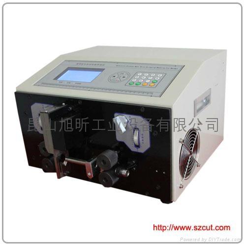 電腦切管機熱收縮黃蠟套管全自動電腦剝線機 X-5008 4