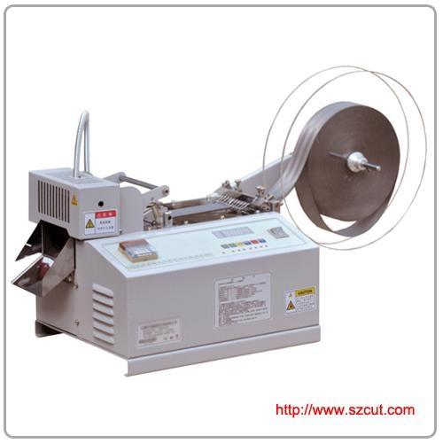 nylon zipper cutting machine x-9180,belt bags cutting machine 1