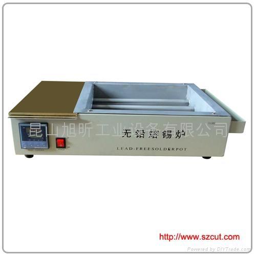 Lead-Free Solder pot/ Flat Titanium alloy Soldering Pot 1510D  1