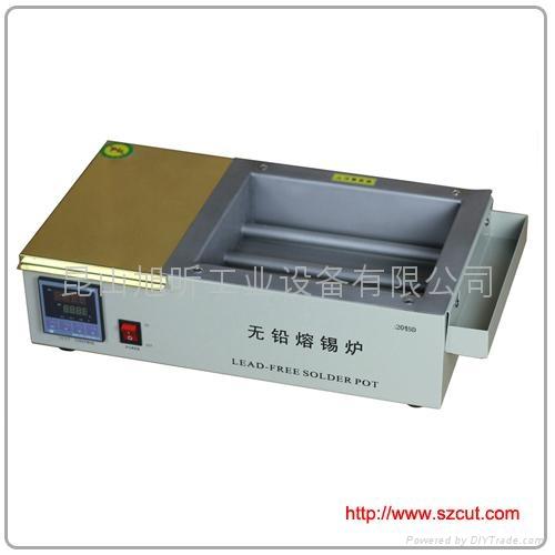 Lead-Free Solder pot/Mini Type lead free solder machine 2015D  1