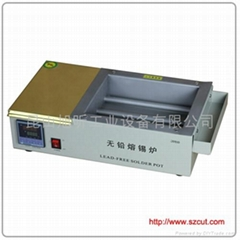 Lead-Free Solder pot/Mini Type lead free solder machine 2015D
