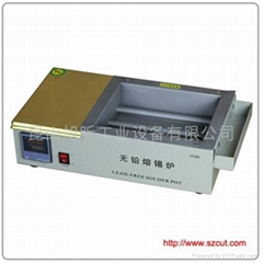 Lead-Free Solder pot/Mini Type lead free solder machine 2520D