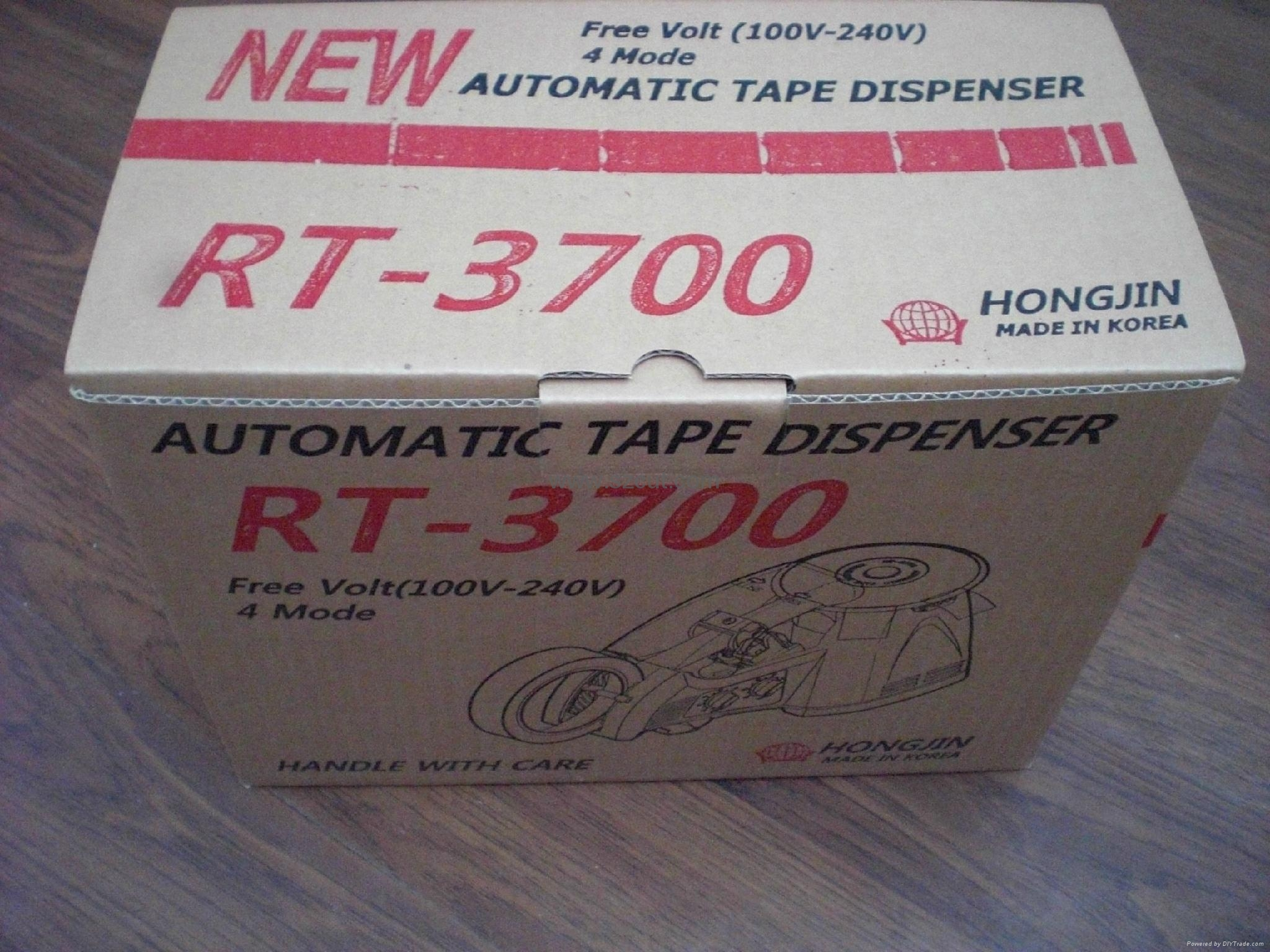 Automatic roundTape Dispenser  RT-3700 5