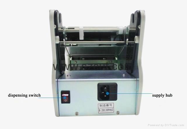 Electric label dispenser /automatic nail polish labelling machine X-100 3