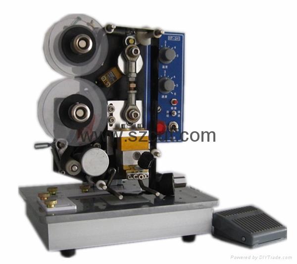 Heating electrical ribbon coding printer X-241