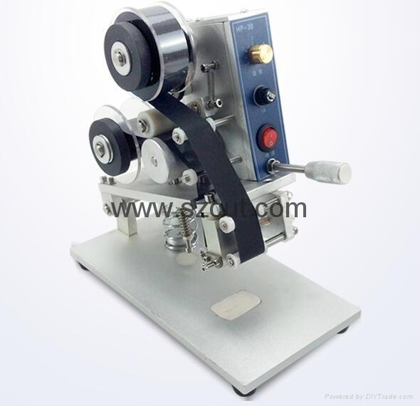 HP-30 Manual Expire Date/Batch Number Coding Machine