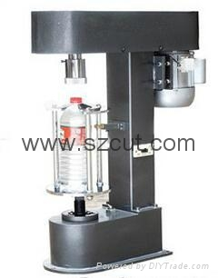 semi-automatic metal cap glass bottle Locking capping Machine XX-05D 1