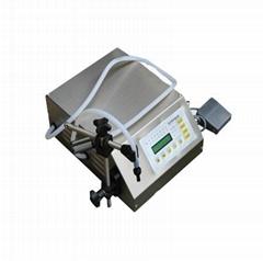 GFK-160 small type electric manual bottle liquid filling machine