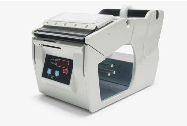 Electric label dispenser /automatic nail polish labelling machine X-100 2