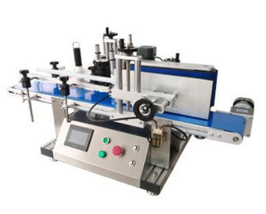 Tabletop Round Bottle Labeling Machine X-150T ; Small automatic labeling machine 3