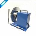 Label rewinder machine used together with label printing machine