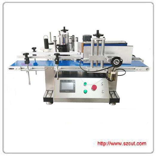 Tabletop Round Bottle Labeling Machine X-150T ; Small automatic labeling machine 2