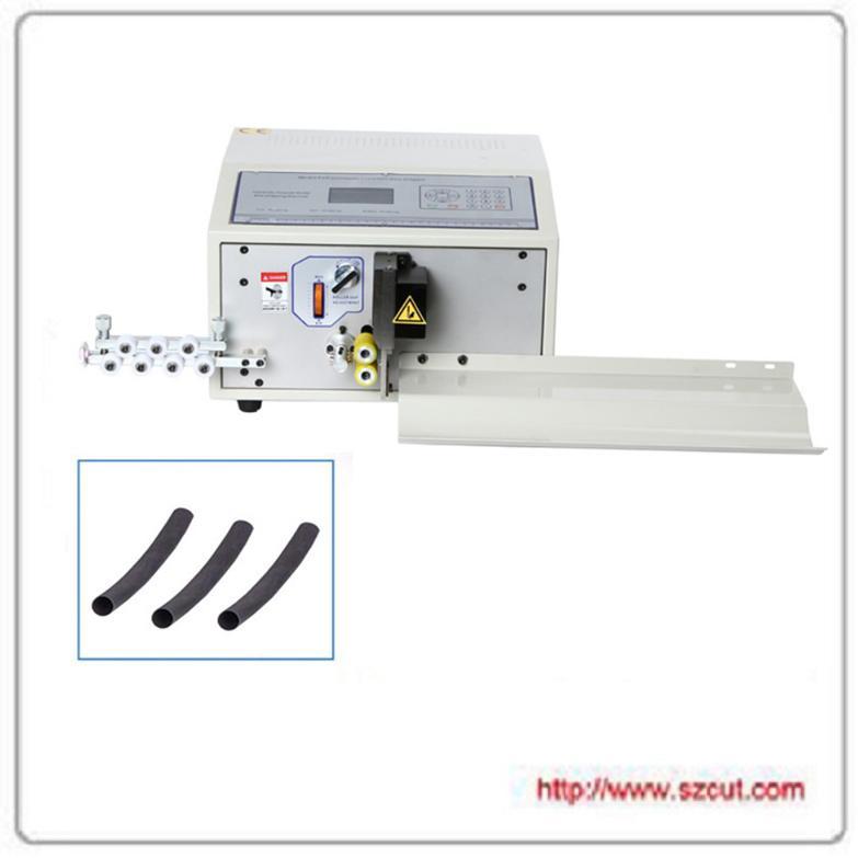 電腦切管機熱收縮黃蠟套管全自動電腦剝線機 X-5008 1