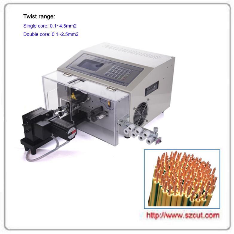 Automatic Wire Stripping Cutting & Twisting Machine 1