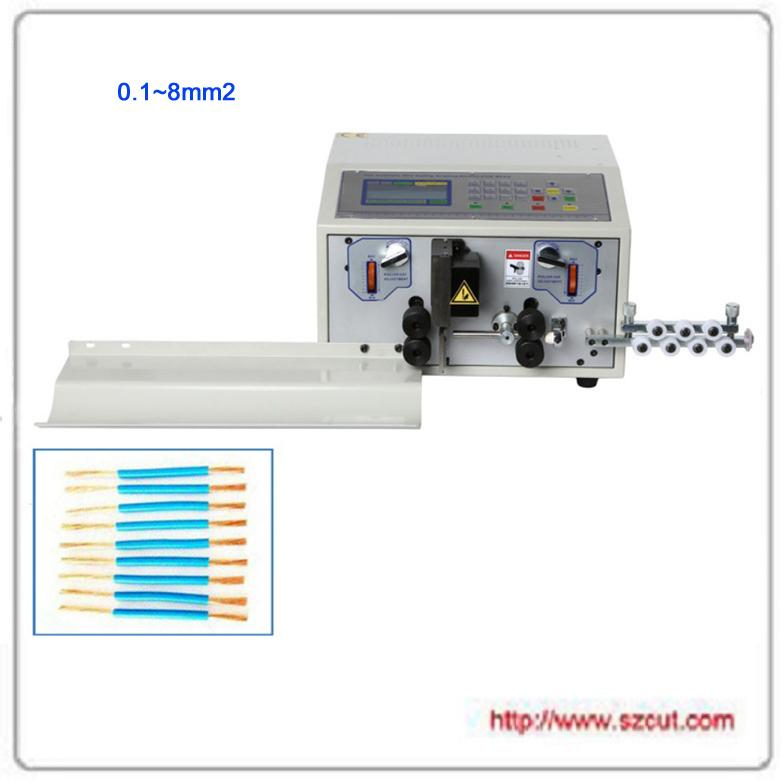 8平方粗线型裁线机 电脑剥线机 电脑裁线机 X-501J