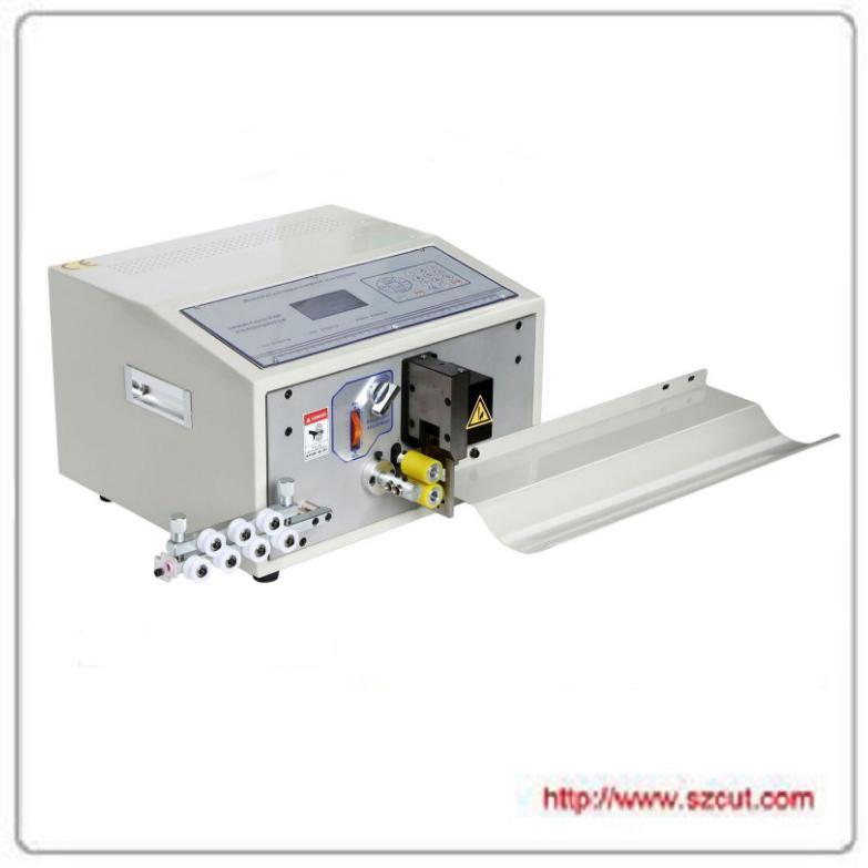 電腦切管機熱收縮黃蠟套管全自動電腦剝線機 X-5008 2