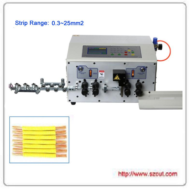 超粗線25平方剝線機/電腦裁線機/電腦剝線機 X-502MAX 1