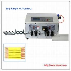 超粗线25平方剥线机/电脑裁线机/电脑剥线机 X-502MAX