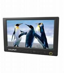 利利普 8寸觸摸屏液晶顯示器帶DVI、HDMI接口