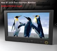 攝影監視器8寸高清HDMI液晶顯示器
