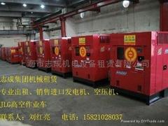 太倉柴油低噪音發電機