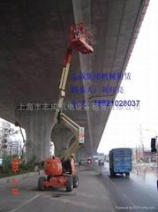 14米自行曲臂式高空作业车