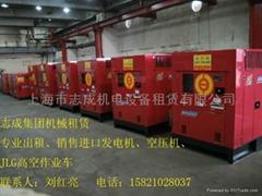 上海原裝進口發電機組