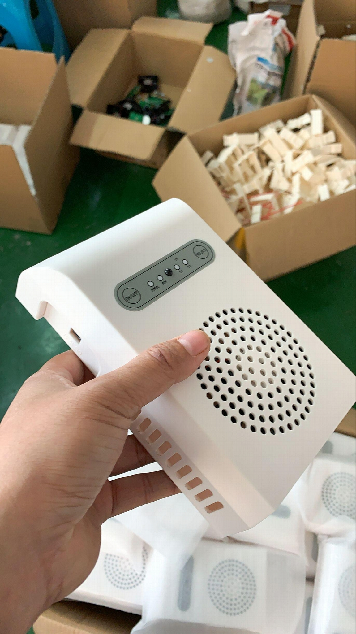 ozone air purifier for home and public space continuous work remote control 5