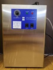 adjustable 15g/h ozone generator, multipurpose air and water, 65LMP pump, ozone
