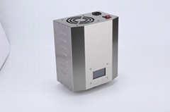 wall mounted ozone water sterilizer, continuous work, 3 ppm, instant flow