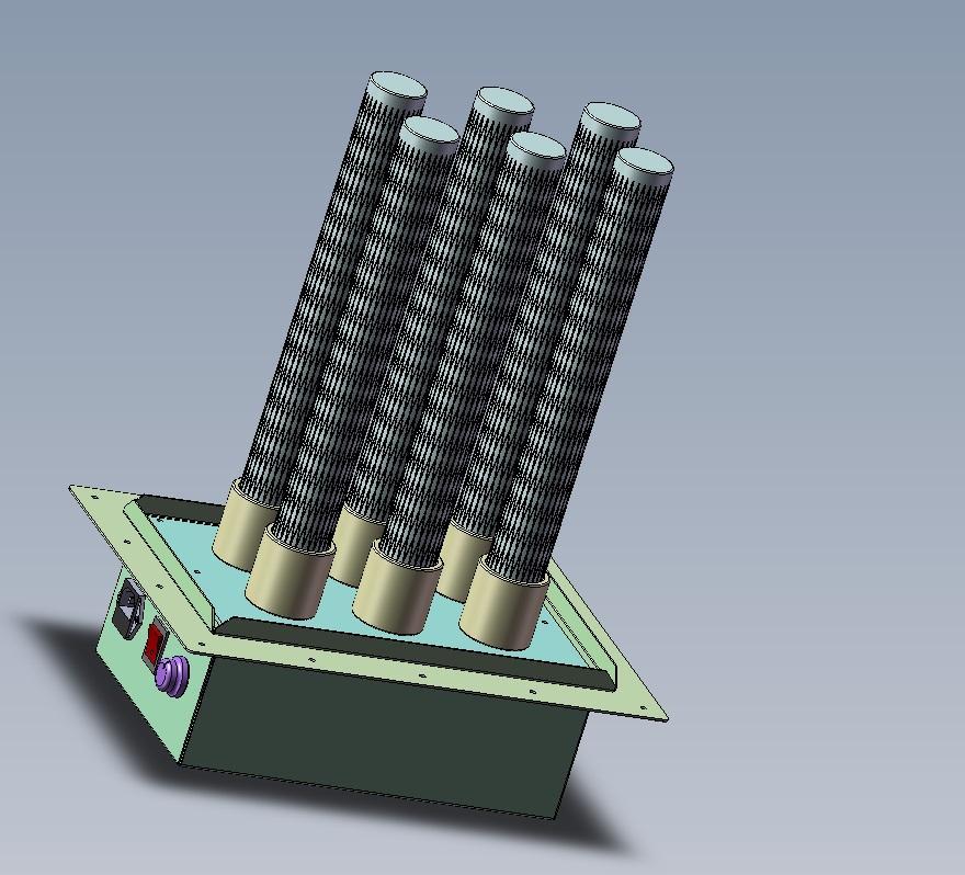 air duct plasma air purifier, remove dust, odor, bacteria, virus increase oxygen 1