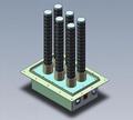 air duct plasma air purifier, remove dust, odor, bacteria, virus increase oxygen 4
