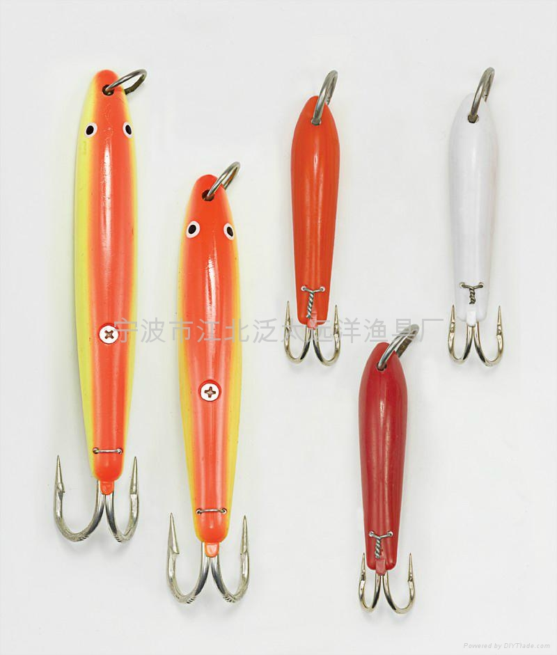 TUNA LURE WITH stainles steel heavy duty DOUBLE HOOK  3