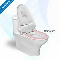 Hygienic Automatic Toilet Seat Cover With Heating Function