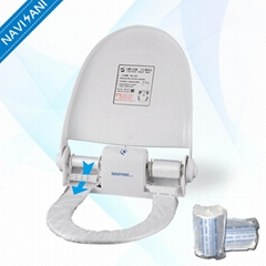 One Time Use Automatic Intelligent Toilet Seat Disposable Cover