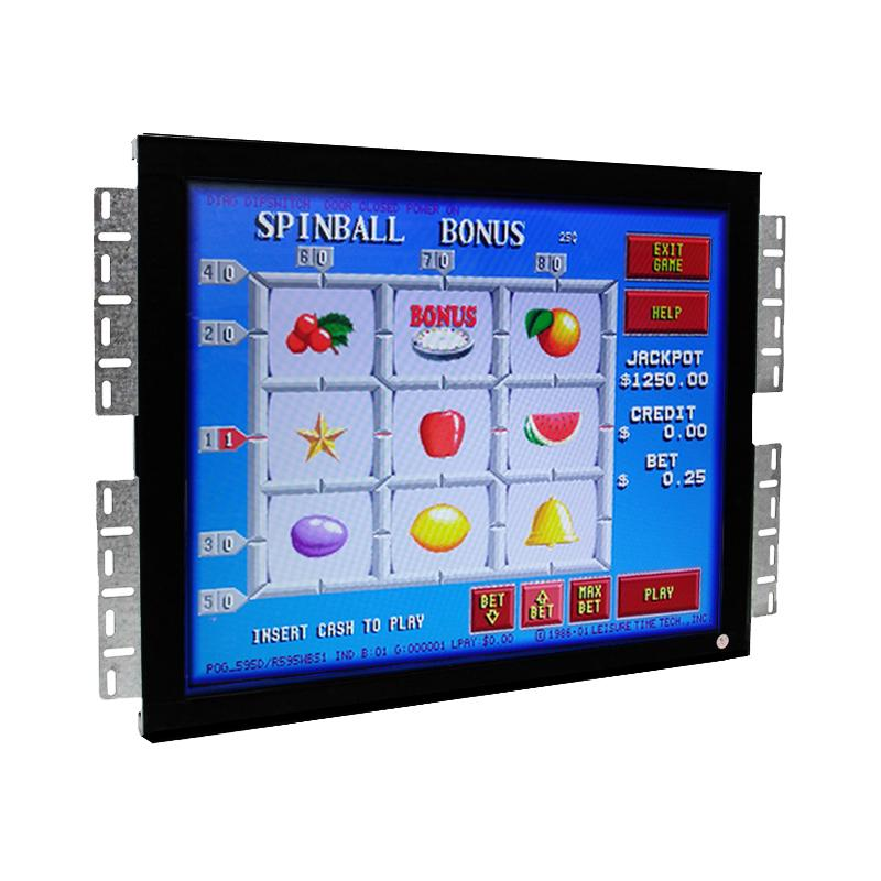 15 17 19 inch POG WMS 3M Controller  LCD Game touch monitor 2