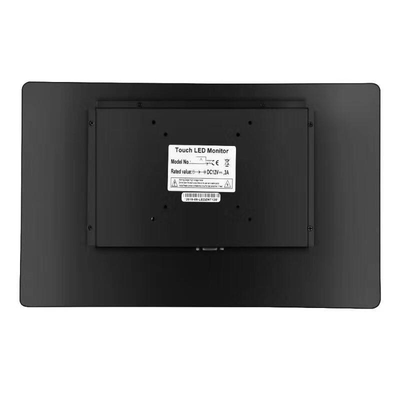 13.3 inch capacitive touch monitor with HDM VGA USB interface 4