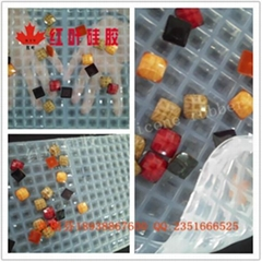 龜面樹脂鑽透明硅膠