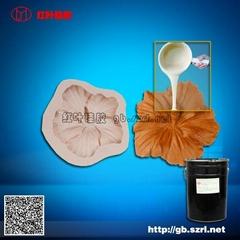 poli樹脂工藝品模具硅膠