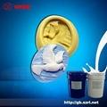 仿宝石透明模具硅胶,工艺模具硅胶,加成型模具硅胶