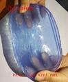 蓝色果冻胶