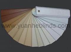 Faux Wood Blind Slats