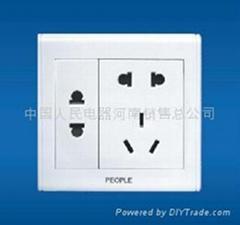 人民电工墙壁开关